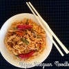 Vegan Spicy Sichuan/ Schezuan Noodles (Indo-Chinese Recipe)