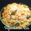 Lemon Rice (Vegan & Gluten-free)