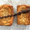Wholemeal Banana Bread Bars (Vegan & Oilfree)