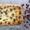 Vegan Cranberry Christmas Loaf (Sugarfree)