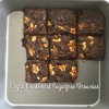 Vegan Sugarfree Chocolate Wholemeal Brownie/ Slice