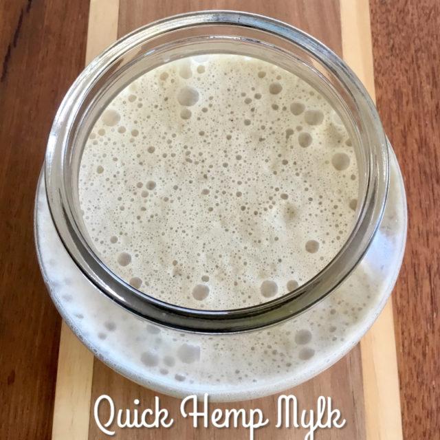 Vegan Hemp Seed Milk