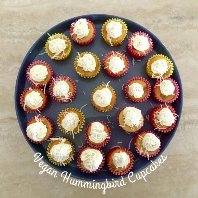 Picture of Vegan Hummingbird Cupcakes