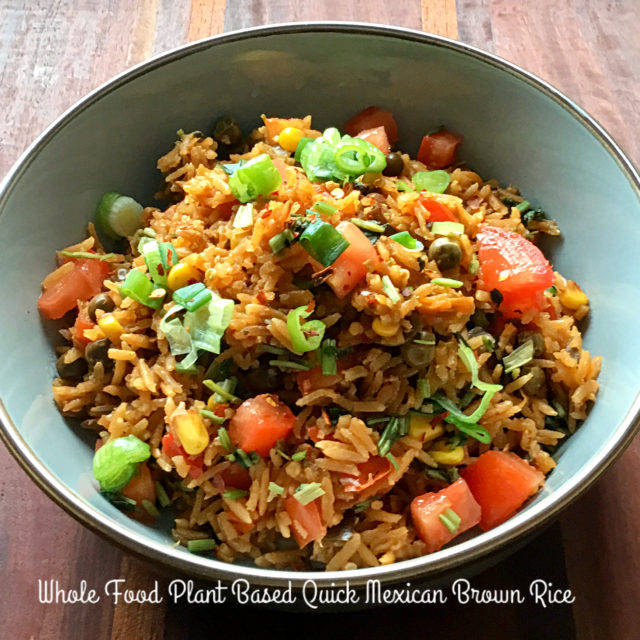 Photo of Vegan Mexican Brown Rice
