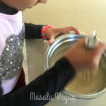 Mixing batter
